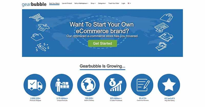 Gearbubble Website