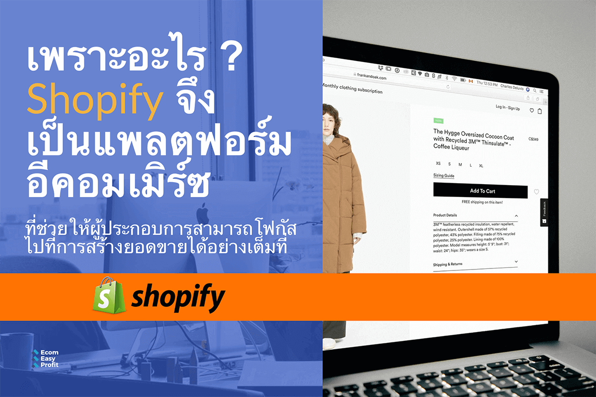 What is Shopify Ecommerce