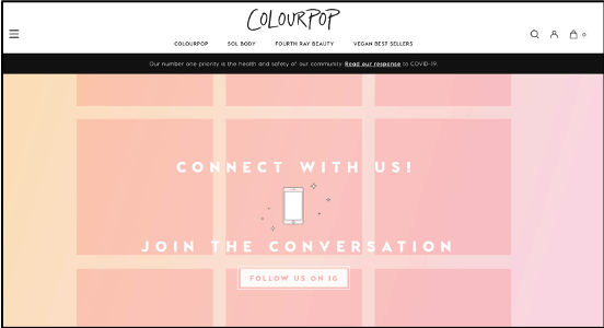 colourpop website